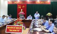 Kỷ luật Đảng Trưởng phòng Tổ chức cán bộ Viện KSND Quảng Trị