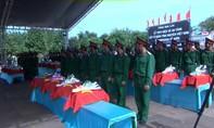 Tỉnh Gia Lai truy điệu, an táng liệt sĩ quân tình nguyện Việt Nam tại Campuchia