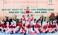 Sinh viên các trường Công an nhân dân 'đọ' tài múa đẹp