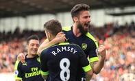 Thắng đậm, Arsenal phà hơi nóng vào Top 4