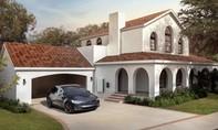 Tesla chuyển hướng từ xe điện sang sản xuất ngói năng lượng mặt trời