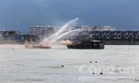 Hải quân Hoa Kỳ và Việt Nam diễn tập ứng phó sự cố tràn dầu