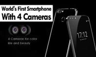Ra mắt smartphone sở hữu 4 camera đầu tiên