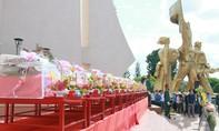Đắk Lắk truy điệu, an táng 14 hài cốt liệt sĩ Việt Nam hy sinh tại Campuchia
