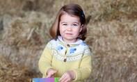 Hé lộ bức ảnh đáng yêu của con gái thái tử William