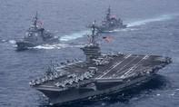 Tàu sân bay Mỹ sẽ ở bán đảo Triều Tiên vô thời hạn