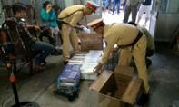 Bắt xe ô tô chở 1600 gói thuốc lá ngoại nhập lậu