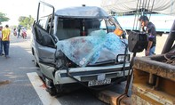 Xe khách tông đuôi xe tải khiến một người tử vong