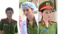 Nhan sắc xinh đẹp của những nữ chiến sĩ công an trong 'Hồ sơ lửa'