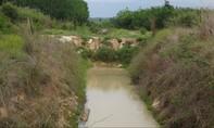Đầu tư tuyến kênh trị giá hơn 25 tỷ đồng rồi bỏ hoang