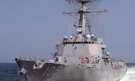 Mỹ điều tàu tuần tra Biển Đông lần đầu tiên dưới thời tổng thống Trump