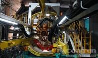 Cỗ máy 300 tấn khoan ngầm 12m mỗi ngày
