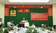 Bí thư Thành ủy TP.HCM Nguyễn Thiện Nhân làm việc với CATP và Cảnh sát PCCC TP.HCM