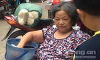 Cụ bà 80 tuổi chạy khỏi khỏi căn nhà bốc cháy