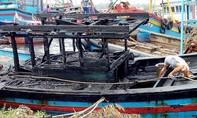 Cháy 3 tàu cá ở cảng Sa Huỳnh, ngư dân thiệt hại nặng