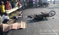 Lấn tuyến, xe tải đụng chết hai người