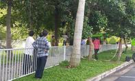 Hốt hoảng người đàn ông treo cổ trong sân bay Tân Sơn Nhất