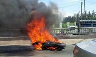 Lái xe BMW 1.000 phân khối bị bỏng nặng, khó tiên lượng tình trạng