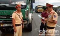 Cảnh sát giao thông chặn bắt hàng loạt vụ vi phạm pháp luật nghiêm trọng