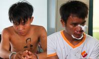Thiếu nữ tung cước đạp ngã 2 tên cướp ở Bình Dương