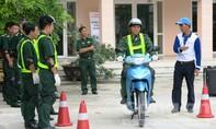 Bộ đội biên phòng TP hưởng ứng ngày hội An toàn giao thông