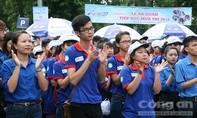 """TPHCM: 10.000 sinh viên tình nguyện tham gia """"Tiếp sức mùa thi 2017"""""""