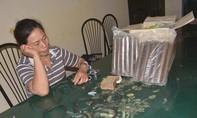 Bắt người phụ nữ chở 12kg thuốc nổ đi tiêu thụ