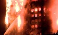Lửa bao trùm tòa nhà cao tầng ở London khiến nhiều người mắc kẹt