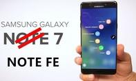 Thông số kĩ thuật và giá bán của Galaxy Note 7 tân trang