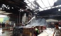 Cháy lớn tại nhà máy chế biến mủ cao su, thiệt hại nhiều tỷ đồng