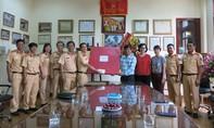 Nhiều đơn vị thăm, chúc mừng báo CATP nhân ngày Báo chí 21-6