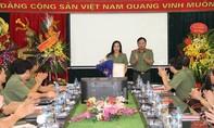 Thượng tá Nguyễn Thúy Quỳnh làm Phó Tổng Biên tập Báo CAND