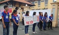 Những hình ảnh đầu tiên về kỳ thi tốt nghiệp THPT Quốc gia tại TPHCM