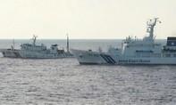 Tàu Trung Quốc lại tiến vào vùng tranh chấp với Nhật Bản trên biển Hoa Đông