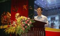 Lãnh đạo chủ chốt Công an các cấp nghe báo cáo về tình hình thời sự