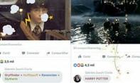 Dùng đũa thần bắn pháo hoa trên Facebook