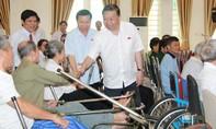 Bộ trưởng Tô Lâm thăm Trung tâm điều dưỡng thương binh Thuận Thành và gia đình người có công tỉnh Bắc Ninh