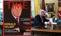 Câu lạc bộ golf của Trump treo bìa Time rởm đăng hình ông