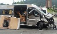 Va chạm giữa hai xe ô tô khiến 9 người bị thương ở Lâm Đồng