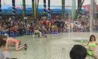 Nhiều vũ công múa sexy phản cảm tại khu vui chơi trẻ em