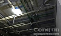 Đường ống nước kéo sập trần nhà căn hộ