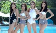 Top 10 The Face diện bikini khoe dáng 'nuột nà' cùng Bảo Thy trên bờ biển