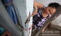 Thi công dự án chống ngập làm 170 nhà dân bị nứt