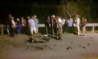 Xe máy tông nhau trên quốc lộ, hai người tử vong