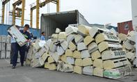 Hàng nội địa Nhật qua sử dụng 'núp bóng' rổ nhựa về Việt Nam