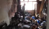Cháy lớn ở trụ sở Ủy ban Mặt trận Tổ quốc Việt Nam TP. Mỹ Tho