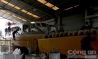 Clip: Bên trong xưởng đóng tàu phục vụ buýt sông TP.HCM