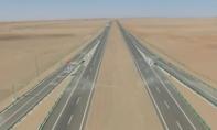 Clip: Cao tốc xuyên sa mạc dài nhất thế giới của Trung Quốc