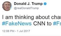 Trump chửi đài CNN là 'rác rưởi', bảo vệ quyền sử dụng mạng xã hội của mình