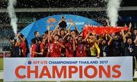 Đánh bại Thái Lan, U15 Việt Nam vô địch Đông Nam Á